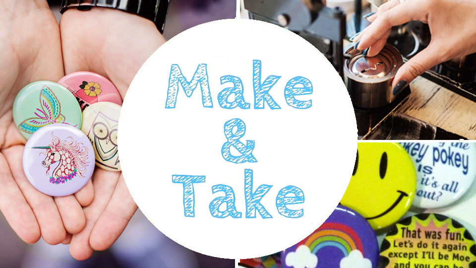 Make  and Take Buttons